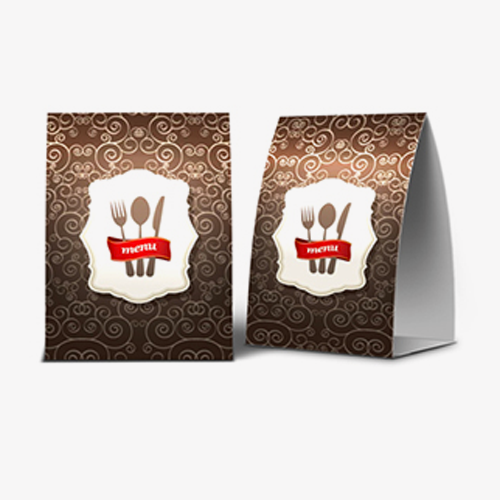 2.8 x 11 Table-Tents