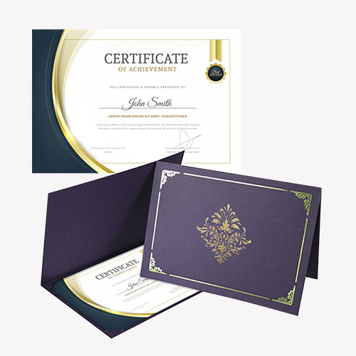 Certificate Folder 3