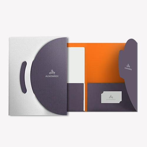 Die Cut Folder