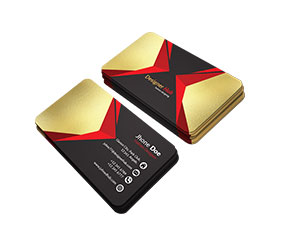Business Cards with Foiling