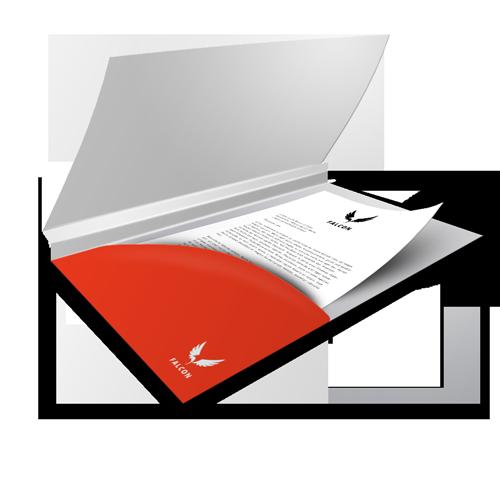Legal Size Presentation Folder