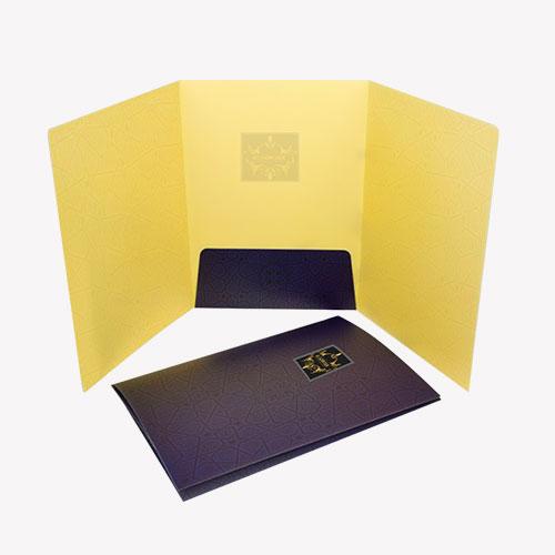 Triple Fold Folder 3