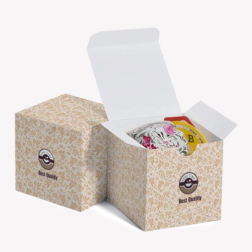 Custom printed folding cartons